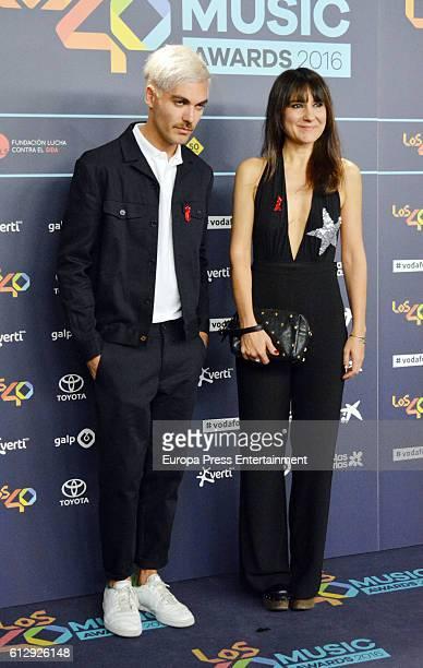 Eva Amaral attends '40 Principales Awards' 2016 Nominees Dinner on October 5 2016 in Madrid Spain
