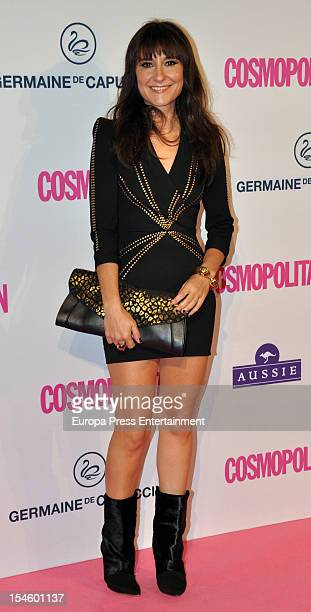 Eva Amaral attends Cosmopolitan Fun Fearless Awards 2012 at Ritz Hotel on October 22 2012 in Madrid Spain