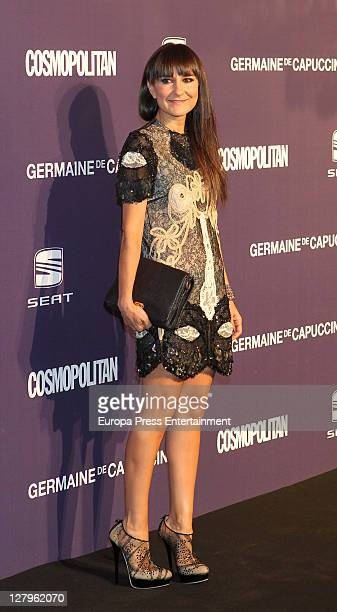 Eva Amaral attends 'Cosmopolitan Fun Fearless Female' Awards 2011 on October 3 2011 in Madrid Spain