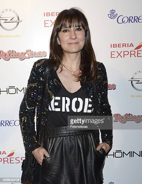 Eva Amaral attends the 2014 Rolling Stone Magazine Awards at Joy on December 2 2014 in Madrid Spain