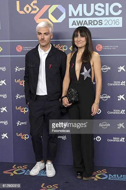Eva Amaral attends the 40 Principales Awards nominated dinner at Florida Retiro on October 5, 2016 in Madrid, Spain.