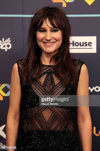 Eva Amaral attends the red carpet of Los 40 Music Awards 2016 at Palau Sant Jordi on December 1 2016 in Barcelona Spain