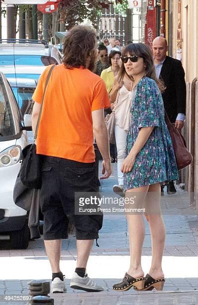 Eva Amaral is seen on May 12 2014 in Madrid Spain