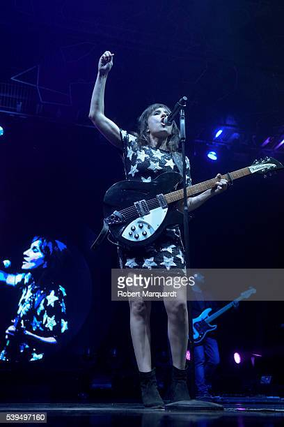 Eva Amaral performs on stage on June 11 2016 in Barcelona Spain