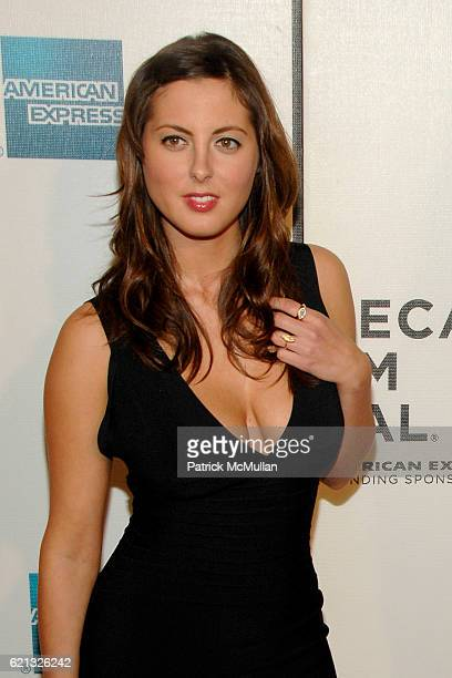 Eva Amurri attends Arrivals of Tribeca Film Festival screening of Speed Racer at 199 Chambers St on May 3 2008 in New York City