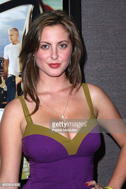 Eva Amurri attends Private Screening of LIONSGATE and ROADSIDE ATTRACTIONS New Film THE LUCKY ONES at Cinema 2 on September 18 2008 in New York City
