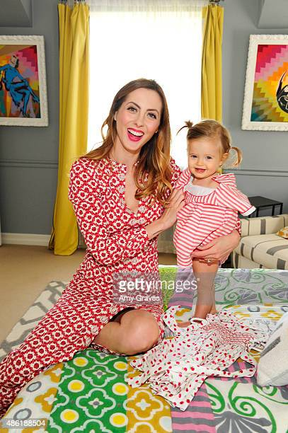 Eva Amurri Martino and daughter Marlowe Martino attend the launch of Happily Eva After presented by Hormel Gatherings® Party Trays on September 1...