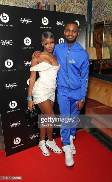 Eva and Dave attend BRIT Awards After Party With Beats By DrDre at The Scotch of St James on February 18 2020 in London England
