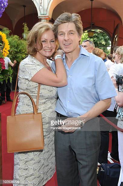 Eva and Horst Kummeth attend the 'Bavaria Reception' during the Munich Film Festival at the Kuenstlerhaus on June 29, 2010 in Munich, Germany.