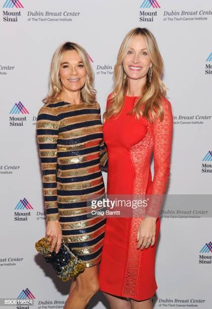 Eva Andersson-Dubin, M.D. And Christine Mack attend 2017 Dubin Breast Center Annual Benefit at the Ziegfeld Ballroom on December 11, 2017 in New York...