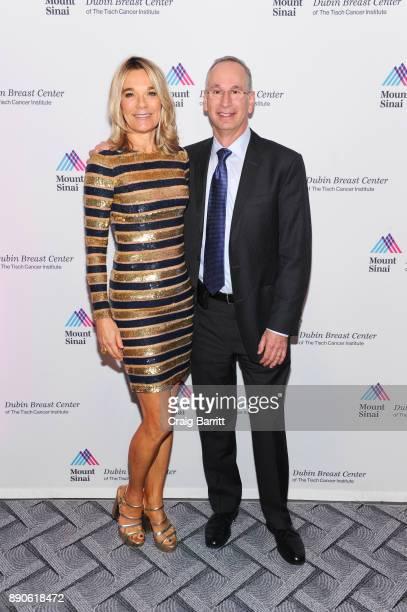 Eva AnderssonDubin MD and David L Reich M D attend 2017 Dubin Breast Center Annual Benefit at the Ziegfeld Ballroom on December 11 2017 in New York...