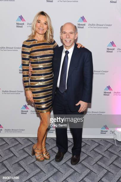 Eva Andersson-Dubin, M.D. And Kenneth L. Davis, M.D. Attend 2017 Dubin Breast Center Annual Benefit at the Ziegfeld Ballroom on December 11, 2017 in...