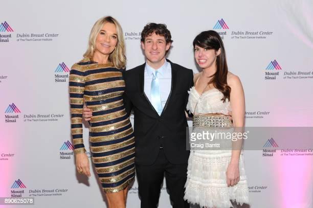 Eva Andersson-Dubin, M.D., Greg Eisner, Malda Hibri attend 2017 Dubin Breast Center Annual Benefit at the Ziegfeld Ballroom on December 11, 2017 in...