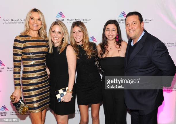 Eva Andersson-Dubin, M.D., guests, Kenny Dichter and Shoshana Dichter attend 2017 Dubin Breast Center Annual Benefit at the Ziegfeld Ballroom on...