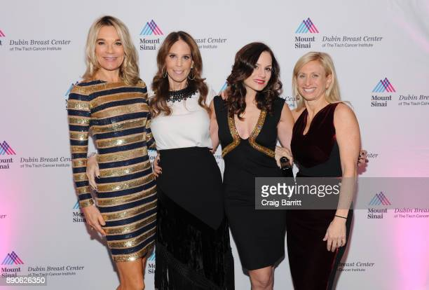 Eva Andersson-Dubin, M.D., Honoree Brooke Morrow, Honoree Kara DioGuardi and Elisa Port, M.D. Attend 2017 Dubin Breast Center Annual Benefit at the...