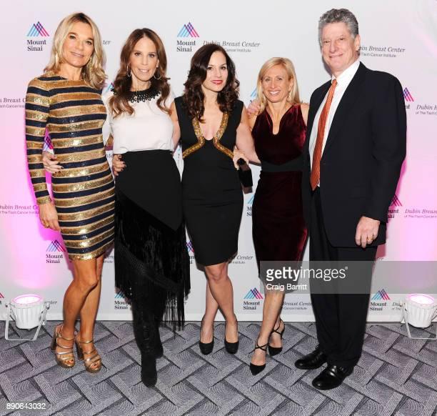 Eva Andersson-Dubin, M.D., Honorees Brooke Morrow and Kara DioGuardi, Elisa Port, M.D. And Michael Brodman, M.D., attend 2017 Dubin Breast Center...