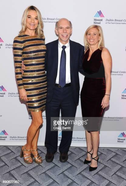 Eva Andersson-Dubin, M.D., Kenneth L. Davis, M.D. And Elisa Port, M.D. Attend 2017 Dubin Breast Center Annual Benefit at the Ziegfeld Ballroom on...