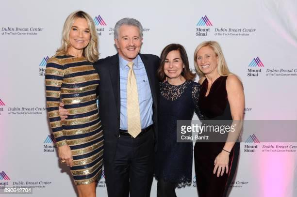 Eva Andersson-Dubin, M.D., Max Gomez, M.D., Wendy Dessy and Elisa Port, M.D. Attends 2017 Dubin Breast Center Annual Benefit at the Ziegfeld Ballroom...