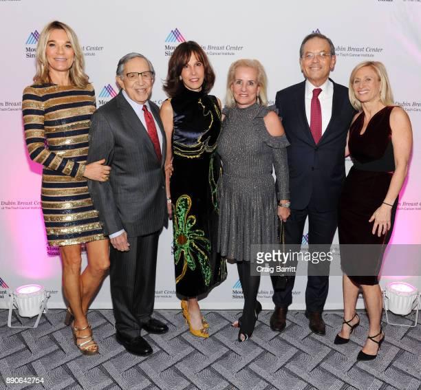 Eva Andersson-Dubin, M.D., Ron Dozoretz, guests and Elisa Port, M.D. Attend 2017 Dubin Breast Center Annual Benefit at the Ziegfeld Ballroom on...