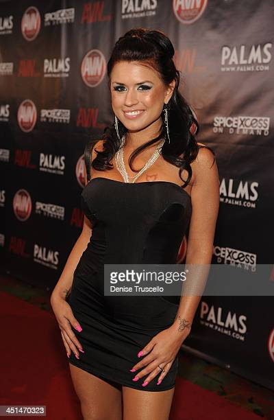 Eva Angelina arrives at the 2010 AVN Awards at the Pearl at The Palms Casino Resort on January 9 2010 in Las Vegas Nevada