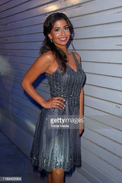Eva Benetatou attends the Promi Big Brother final at MMC Studios on August 23 2019 in Cologne Germany