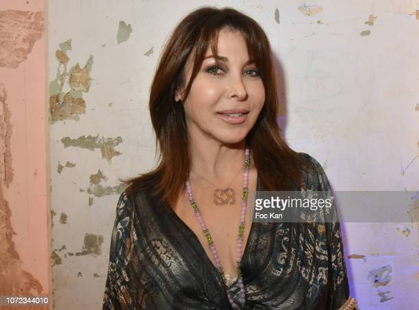 Eva Benhamou editor in chief of First Luxe Magazine attend 'Les Dieux du Stade 2019' Calendar Launch at Station Space on December12 2018 in Paris...