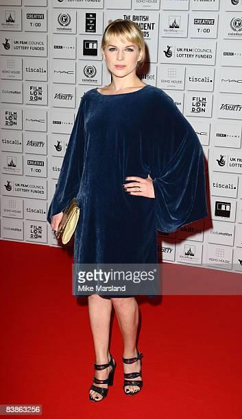 Eva Birthistle attends the British Independent Film Awards at the Old Billingsgate Market on November 30 2008 in London England