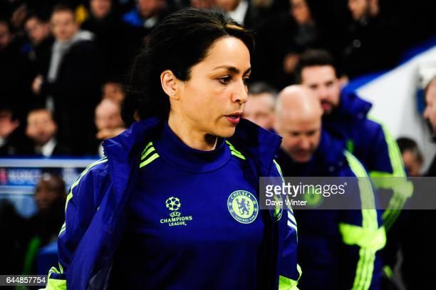 Eva CARNEIRO Chelsea / Paris Saint Germain 1/8Finale retour Champions League Photo Dave Winter / Icon Sport