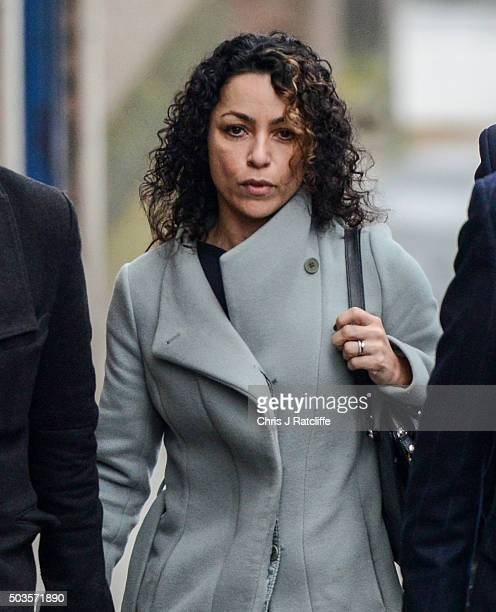 Eva Carneiro arrives at Montague Court Croydon for an initial hearing in an employment tribunal on January 6 2016 in London England Carneiro is...