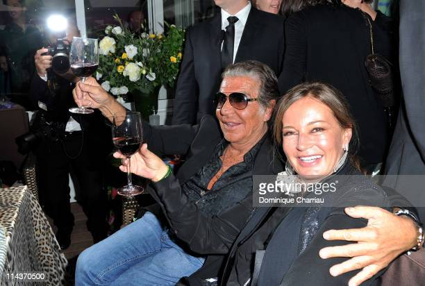 Eva Cavalli and Eva Cavalli attend the Cavalli Boutique Opening during the 64th Annual Cannes Film Festival on May 18 2011 in Cannes France