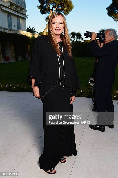 Eva Cavalli attends amfAR's 20th Annual Cinema Against AIDS during The 66th Annual Cannes Film Festival at Hotel du CapEdenRoc on May 23 2013 in Cap...