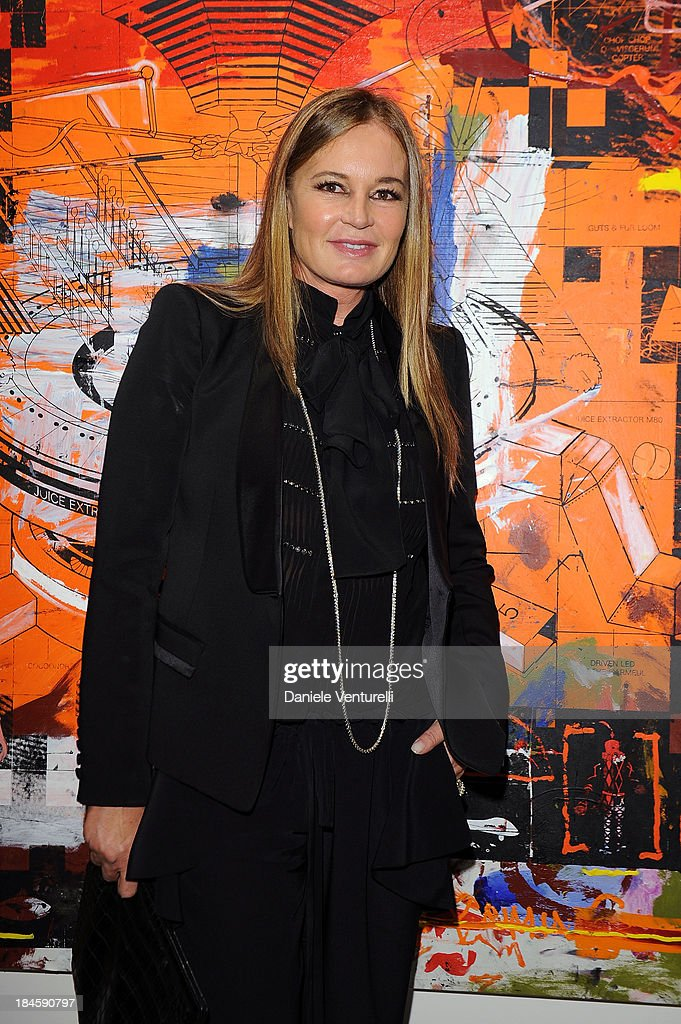 Eva Cavalli attends Cardi Black Box Gallery Present Nicolas Pol hosted by Nicolo Cardi And Vladimir Restoin Roitfeld at Cardi Black Box on October 14, 2013 in Milan, Italy.