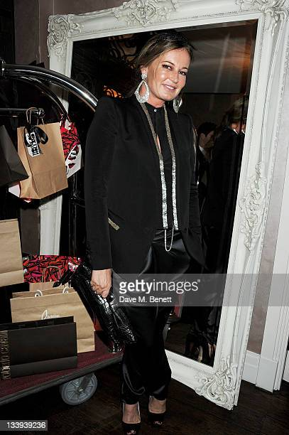 Eva Cavalli attends 'Film InStyle' in association with Land Rover celebrating InStyle Magazine's 10th Anniversary at The Sanctum Soho Hotel on...