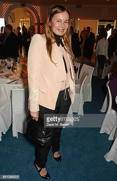 Eva Cavalli attends The 8th Annual Filmmakers Dinner hosted by Charles Finch and JaegerLeCoultre at Hotel du CapEden Roc on May 13 2016 in London...