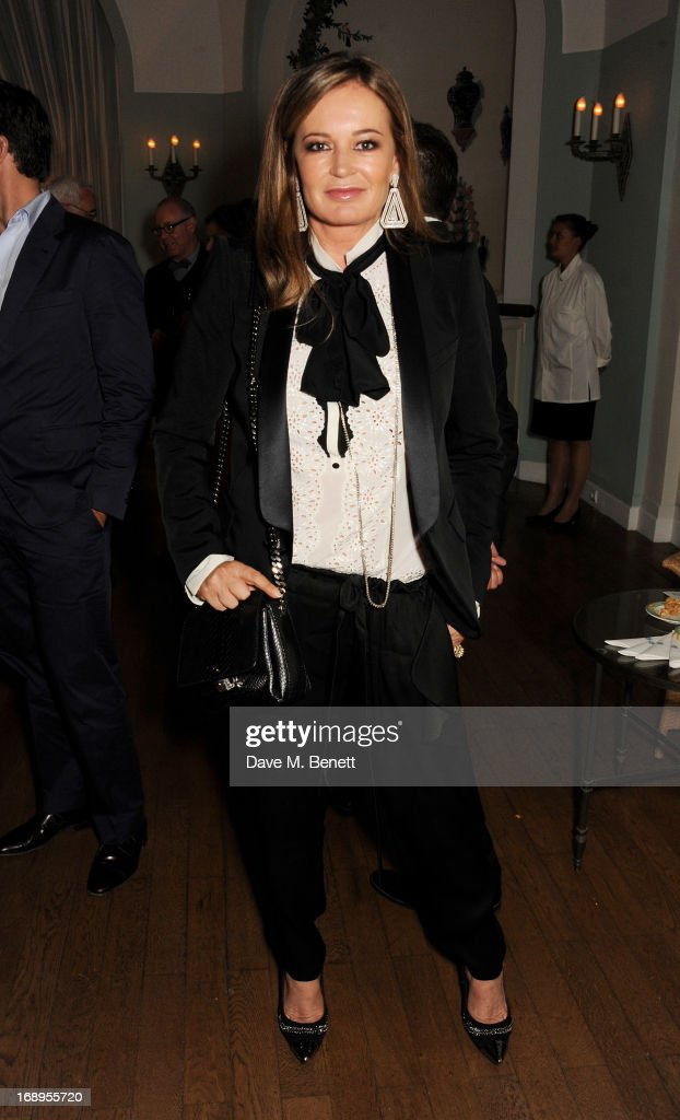 Eva Cavalli attends the annual Finch's Quarterly Review Filmmakers Dinner hosted by Charles Finch, Caroline Scheufele and Nick Foulkes at Hotel Du Cap Eden Roc on May 17, 2013 in Antibes, France.