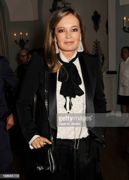Eva Cavalli attends the annual Finch's Quarterly Review Filmmakers Dinner hosted by Charles Finch Caroline Scheufele and Nick Foulkes at Hotel Du Cap...