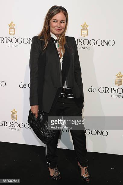Eva Cavalli attends the De Grisogono Party during the annual 69th Cannes Film Festival at Hotel du CapEdenRoc on May 17 2016 in Cap d'Antibes France