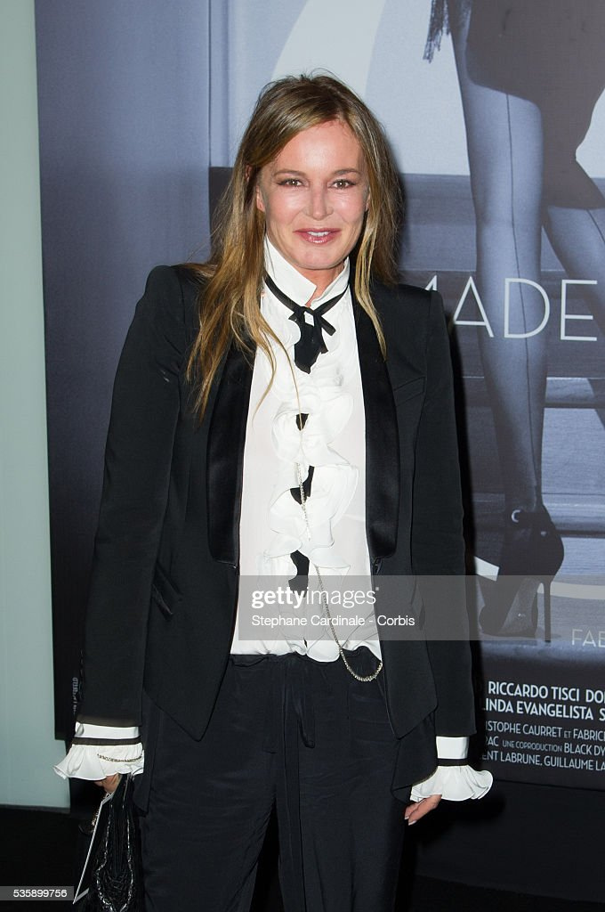 Eva Cavalli attends the 'Mademoiselle C' Premiere, as part of the Paris Fashion Week Womenswear Spring/Summer 2014, in Paris.
