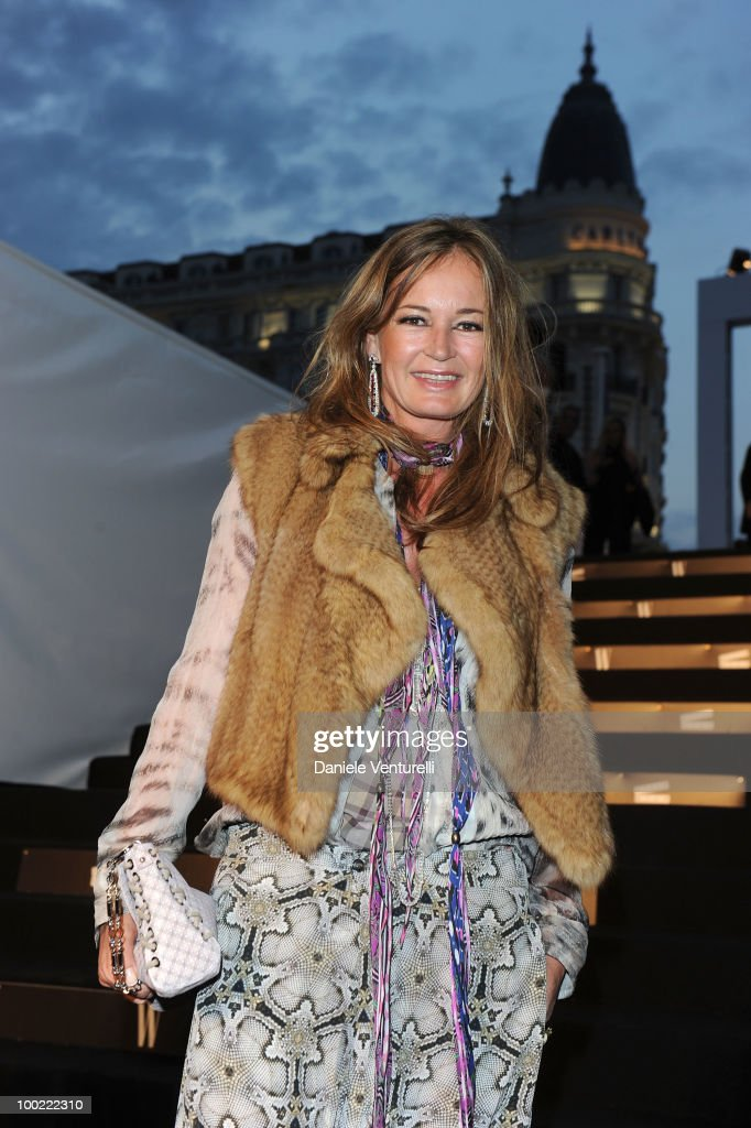 Eva Cavalli attends the Style Star Party at Carlton Beach during the 63rd Annual International Cannes Film Festival on May 21, 2010 in Cannes, France.