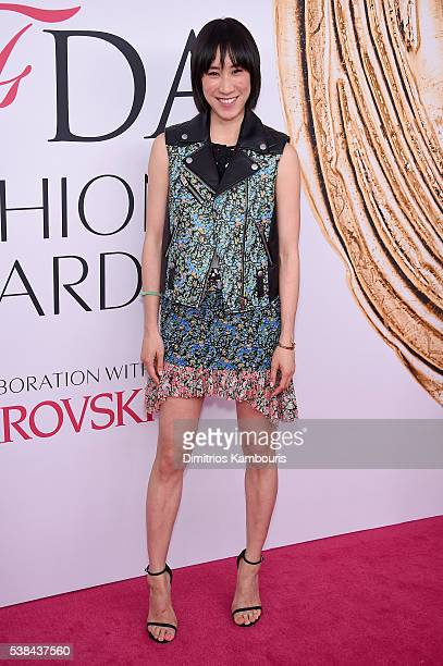 Eva Chen attends the 2016 CFDA Fashion Awards at the Hammerstein Ballroom on June 6, 2016 in New York City.