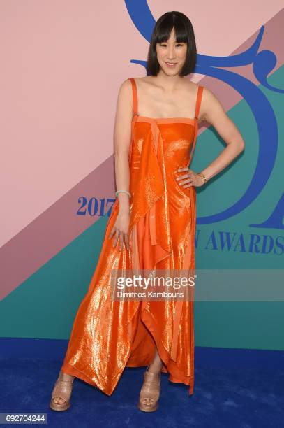Eva Chen attends the 2017 CFDA Fashion Awards at Hammerstein Ballroom on June 5, 2017 in New York City.