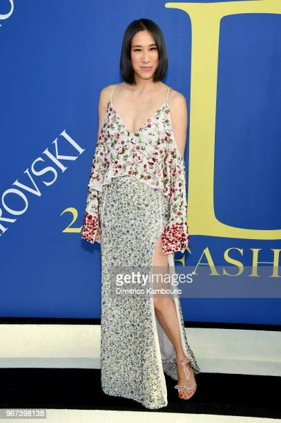 Eva Chen attends the 2018 CFDA Fashion Awards at Brooklyn Museum on June 4 2018 in New York City