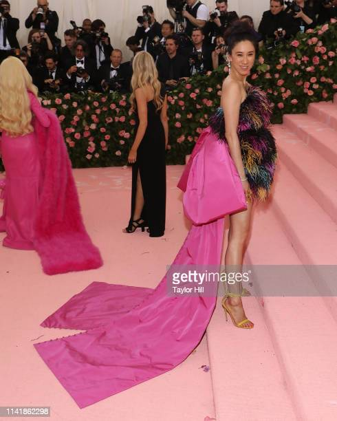 """Eva Chen attends the 2019 Met Gala celebrating """"Camp: Notes on Fashion"""" at The Metropolitan Museum of Art on May 6, 2019 in New York City."""