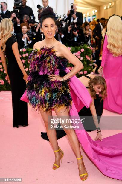 Eva Chen attends The 2019 Met Gala Celebrating Camp: Notes on Fashion at Metropolitan Museum of Art on May 06, 2019 in New York City.