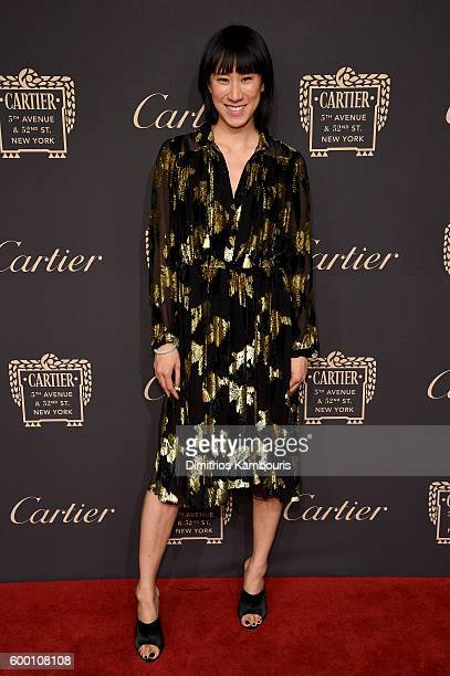Eva Chen attends the Cartier Fifth Avenue Grand Reopening Event at the Cartier Mansion on September 7 2016 in New York City