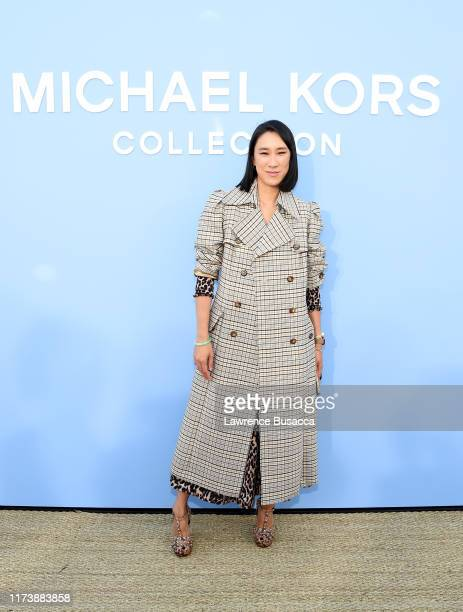 Eva Chen attends the Michael Kors Collection Spring 2020 Runway Show on September 11, 2019 in Brooklyn City.