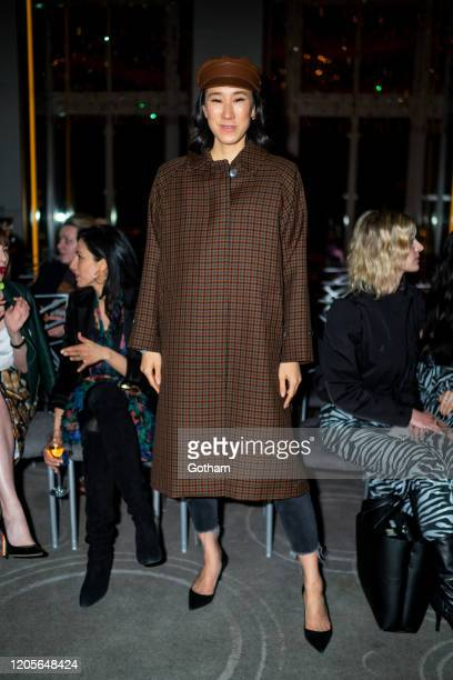 Eva Chen attends the Prabal Gurung fashion show during New York Fashion Week: The Shows at the Rainbow Room on February 11, 2020 in New York City.