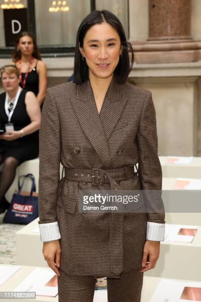 Eva Chen attends the Victoria Beckham show during London Fashion Week September 2019 at British Foreign and Commonwealth Office on September 15 2019...