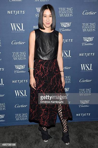 Eva Chen attends the WSJ. Magazine 2015 Innovator Awards at the Museum of Modern Art on November 4, 2015 in New York City.