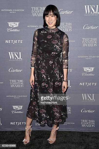 Eva Chen attends the WSJ Magazine 2016 Innovator Awards at Museum of Modern Art on November 2, 2016 in New York City.